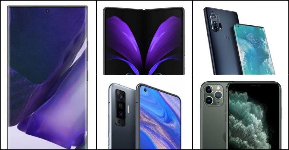 Лучшие смартфоны 2020 года с большим экраном
